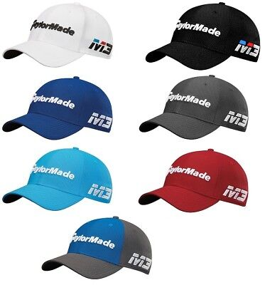 Taylormade M3/tp5 New Era Tour 39Thirty Fitted Mens Hat 2018 - Pick Size & Color