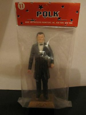 """Vintage James Polk Our 11Th President  Approx 3"""" Figurine By Marx  New"""