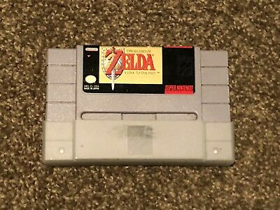 The Legend of Zelda A Link to the Past (Super Nintendo) SNES Game Cartridge
