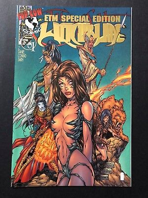 Witchblade #1 ETM Special Edition RARE VARIANT Shi Darkness Michael Turner VF/NM
