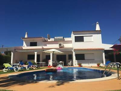 Villa Algarve Portugal sleeps 11 private pool air con beach rent 13th July 2019
