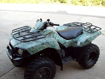 2007 Kawasaki Brute Force 650 4x4 Winch Camo Automatic