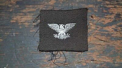 WWII vintage US Army Officers Colonel rank insignia for OD elastique uniform