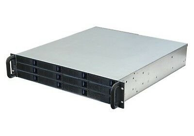 Norco DS-12D External Disk Array - 2U Rackmount Inc. 12x Hot-Swap