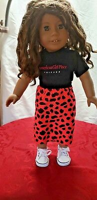 """American girl Doll, 18""""Truly Me , African American, Great Used Condition."""