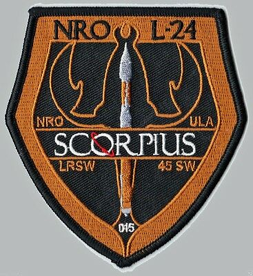 NROL 24 - SCORPIUS - ATLAS V 401 - 45 SW ULA USAF DOD SATELLITE Launch PATCH