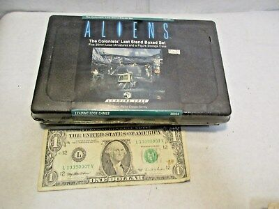 Aliens Colonists Last Stand Set Leading Edge 20304 Miniatures 25mm NOS Sealed