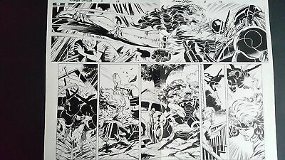 Steve EPTING ~ X-MEN Unlimited ~ ROGUE Double Page