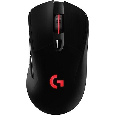 Logitech G703 Lightspeed RGB LED Wireless Optical Gaming Mouse USB 12000DPI