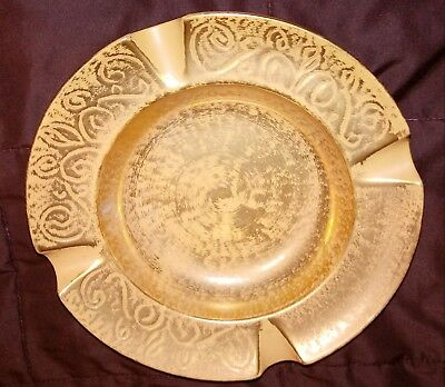 Stangl Pottery Large Cigar Ashtray Antique Gold Vintage #3973 Collectable NICE