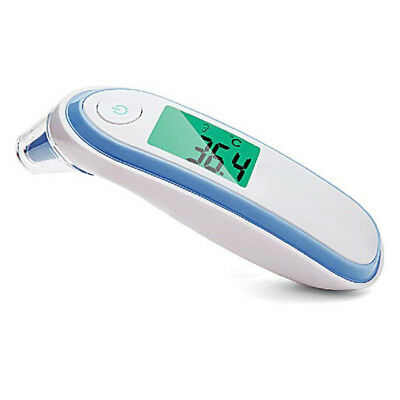 Infrared Digital Thermometer Digital Infrared Medical Forehead and Ear Ther Q4A9