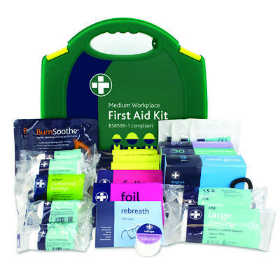 Medium Workplace BS8599-1 First Aid Kit, Office,school, Reliance Medical 20 Pers