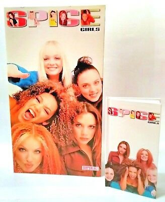 SPICE GIRLS Photo Album & 1998 Diary UNUSED w/ 61 snapshots and wrapper OFFICIAL