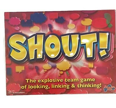 Shout! Board Game New & Sealed Family  Party Board Game