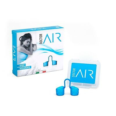 DoctorAir Dilatatore Nasale Riutilizzabile in Silicone Medicale MADE IN ITALY