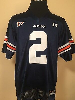Tigers #2 MED Embroidered College Football Supporters Jersey