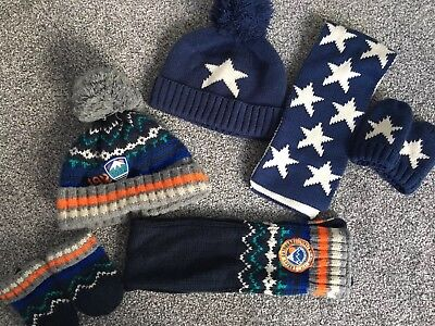 Next Hat Gloves Scarf Bundle 3-6 Minths