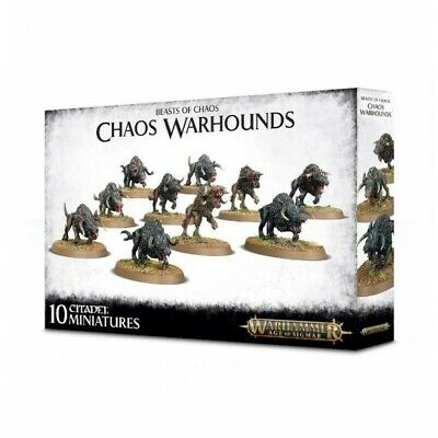 Monsters Of Chaos: Chaos Warhounds Games Workshop Warhammer Age of Sigmar New