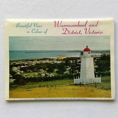 Warrnambool And District Beautiful Views in Colour View Folder Postcard (P332)