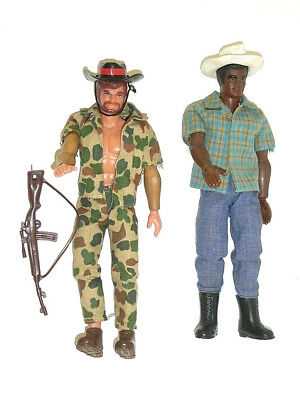 Seltene Mattel Big Jim Abenteuer Expedition Action Figuren Set