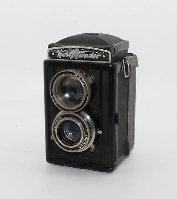 Voigtländer Brillant S (Focusing Brillant) Bakelite TLR 120 Roll Camera c.1939