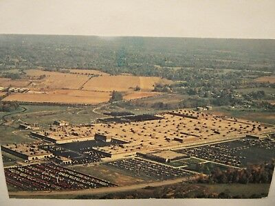 1969 ? aerial photo of FORD MOTOR CO. TRUCK PLANT, Louisville, KY postcard