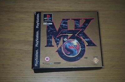 BOX ONLY !!! Mortal Kombat 3 MK3 paper box  - acceptable  BOX ONLY !!!