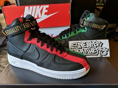 NIKE AIR FORCE 1 High BHM Black History Month QS Equality