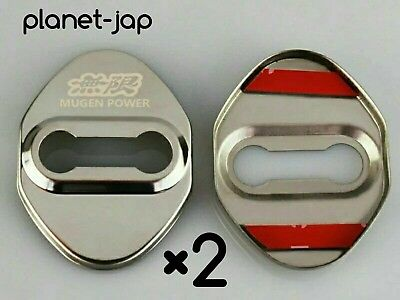 Mugen type Stainless Door Catch Lock covers Honda Civic type r ep3 fn2 dc5 jdm