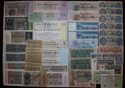 LOT OF 48 Germany banknotes
