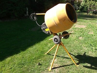 Master Mix Cement Mixer MC 130 Complete With tipping stand