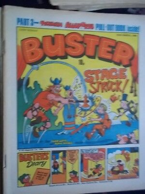 Buster  Comic.[ 22Nd March 1980].  3Rd Part Of Ticklish Allsports Pull-Out Book