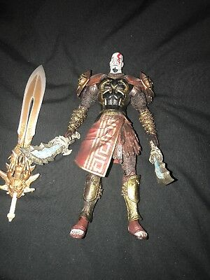 GOD OF WAR 2 Ghost of Sparta Kratos in Ares Armor Action Figure