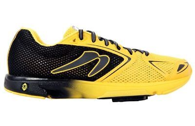 Newton Distance VII Mens Shoes Black/Yellow