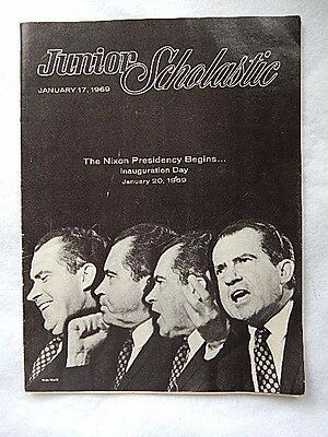 Vintage 1969 Junior Scholastic-Nixon on Cover