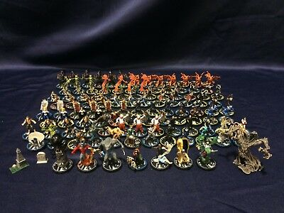 HorrorClix Base Set Lot of 100+ Figures