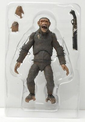 "CAESAR Dawn of the Planet of the Apes 7"" inch Scale Figure Series 2 Neca 2014"