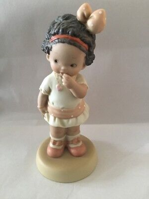 """Enesco 1992 Memories of Yesterday """"Strike Me, I'm Your Match"""" Figurine 529656"""