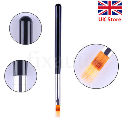 Gel Nail Ombre Brush Wooden Handle Lace Brush Pro Art Manicure Drawing Tool Hot