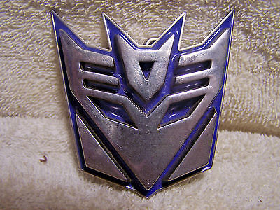 2006 Hasbro Transformers Decepticon Belt Buckle