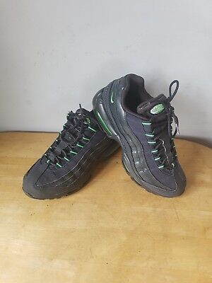 Nike Air max 95 Green With Florisent Green Details UK Size 6