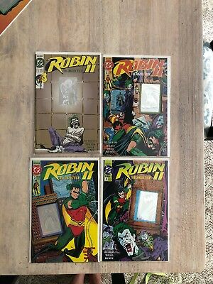 Robin  II The Jokers Wild Issue #'s 1-4 Variant Covers