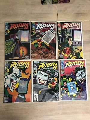 Robin II The Jokers WildHolo Lot- Two Issue # 1, Two Issue # 2, Two Issue # 3