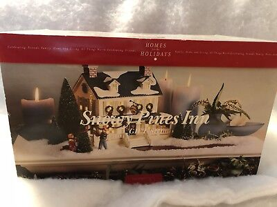 Department 56 House SNOWY PINES INN ST/9 Bed Breakfast Snow Village 54934