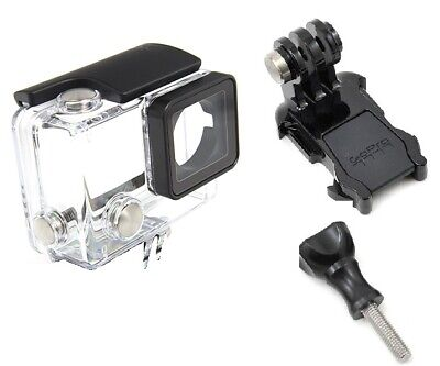 Genuine Waterproof Protective Housing Case for GoPro HERO4 Silver Black OEM