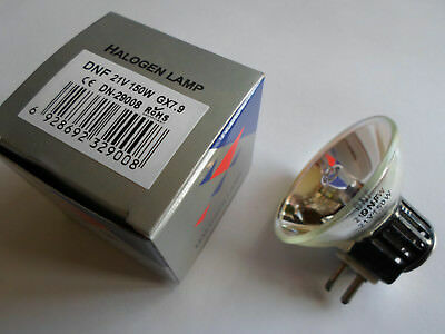 A1/266 DNF 21v 150w bulb lamp for cine projectors. Fujiscope SH30, Dental. New.