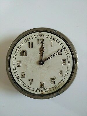 Vintage Smiths Military Clock - Possibly Aircraft Cockpit or Car Dashboard?