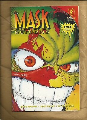 The Mask Returns #4 NM Near Mint 1993 scarce Dark Horse Comics US comics