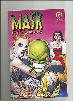 The Mask Returns #2 vfn/nm 1992 Scarce Dark Horse Comics US Comics