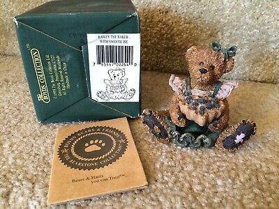 #26 Boyds Bears & Friends Bailey the Baker with Sweetie Pie - 1994 - 2254